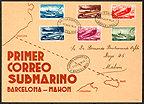 Mazazo 2.- Falsificación de un sobre de correo submarino – 1938