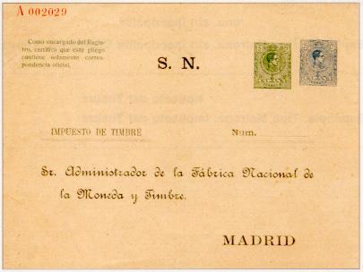 Los impuestos y su reflejo en los enteros postales administrativos espeñoles