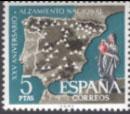 XXV Aniv. del Alzamiento Nacional. 5 pesetas.